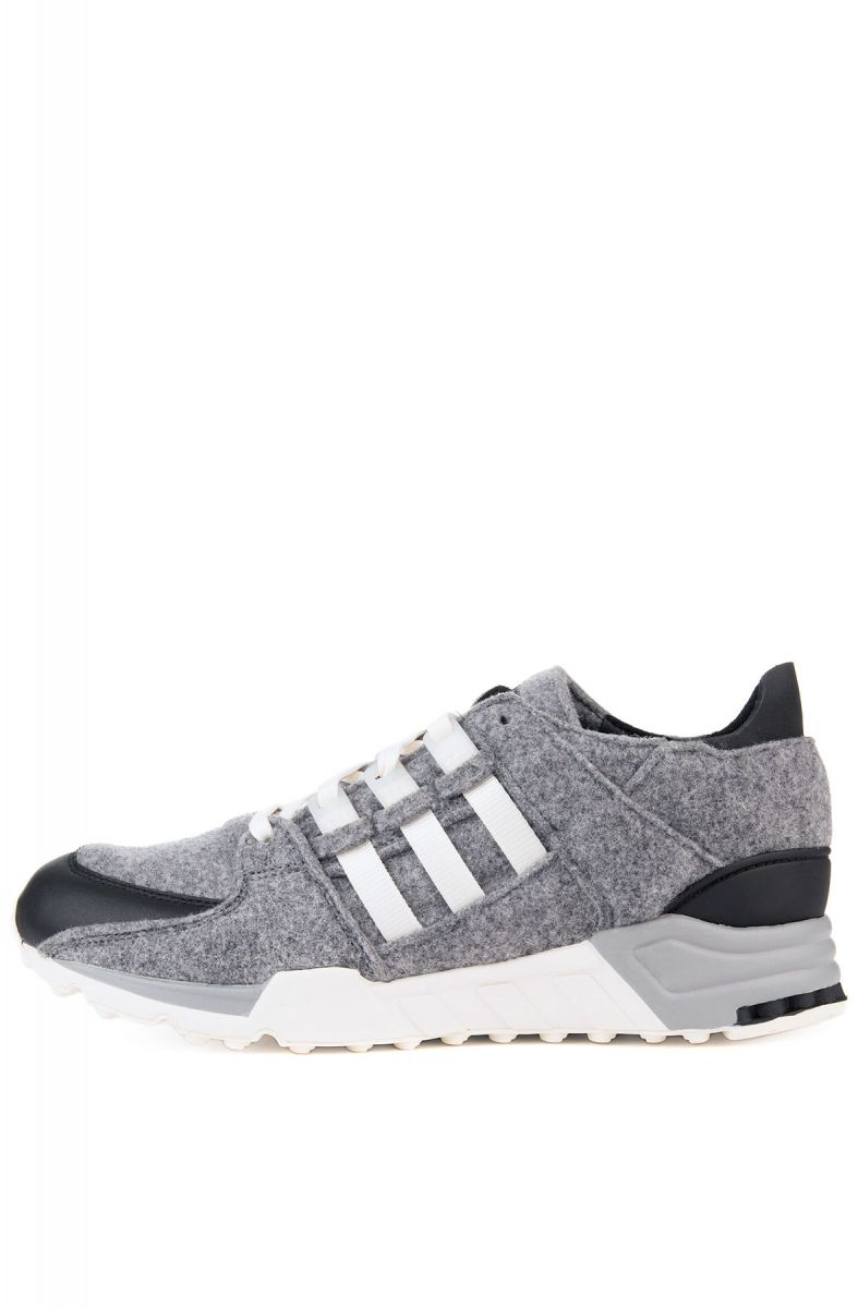 pretty nice 0c4f9 15552 The adidas EQT Support Winter Wool Sneakers in Core Black and Off White ...