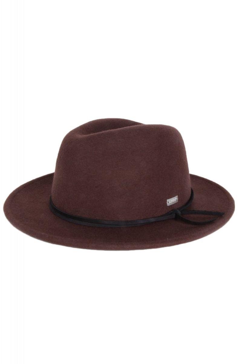 768379550ab14 Original Chuck By Mark McNairy Hat Munson Fedora Dark Brown