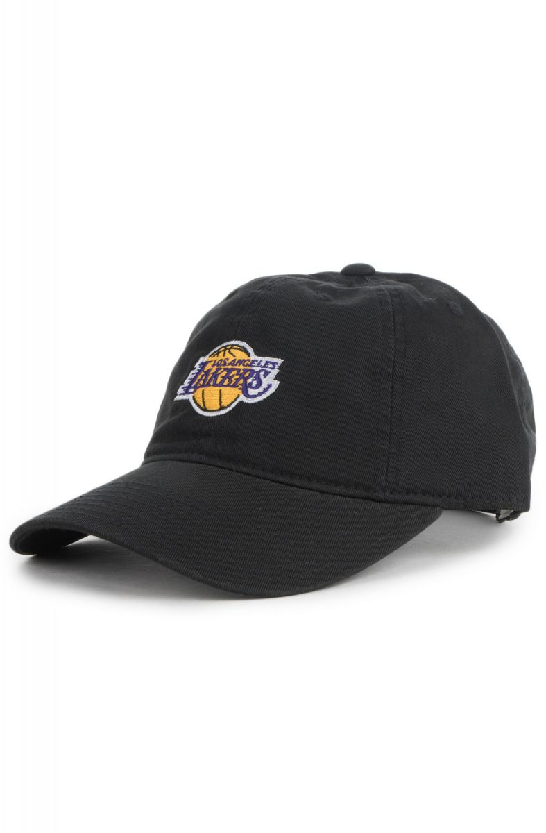 Mitchell   Ness Hat Los Angeles Lakers Dad Black 45296c6aca0