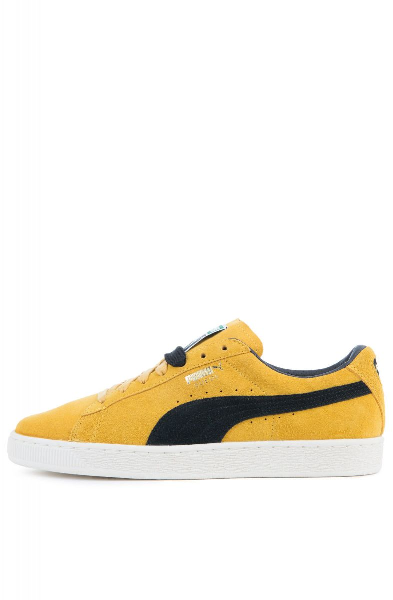 online store 0d6da c58a9 The Suede Classic Archive in Mineral Yellow and Puma Black