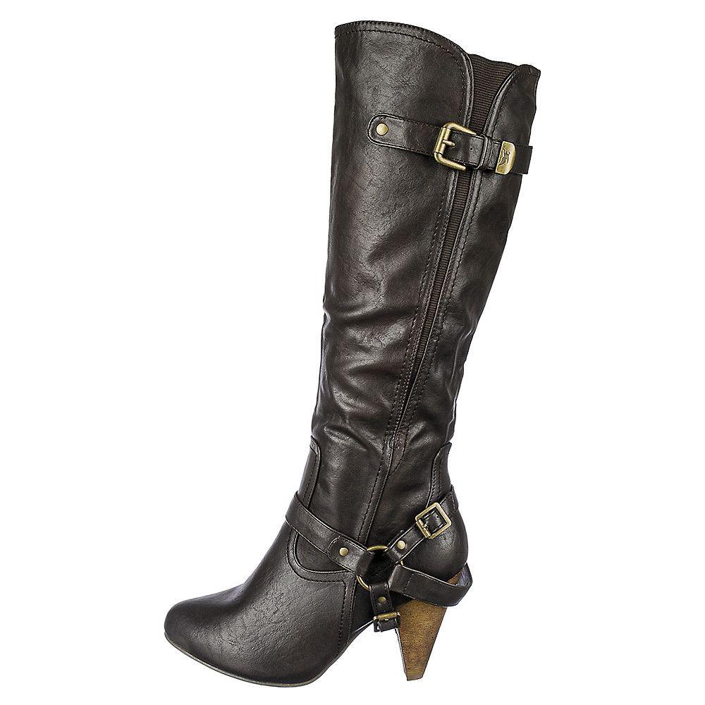 Women s Low Heel Pocket Boot Merton-37A a5fd83196