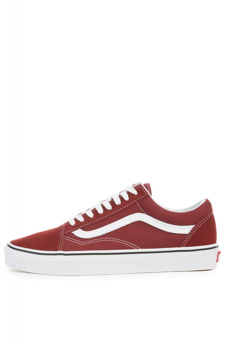 15b509fe4f51 Vans Sneaker Old Skool in Madder Brown True White
