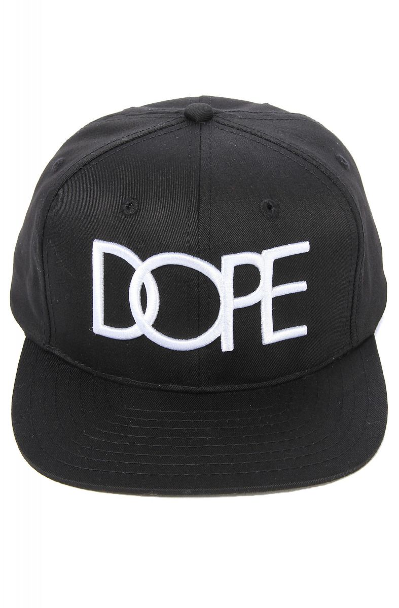 huge selection of f83ed 9389f ... best price the dope logo snapback hat in black 77609 c25ab