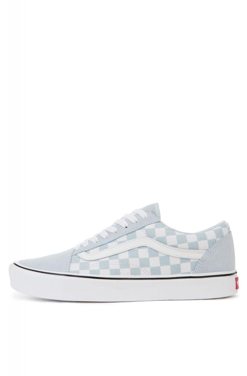 20166f0b5c Vans Sneaker Old Skool Lite Baby Blue True White Suede Blue