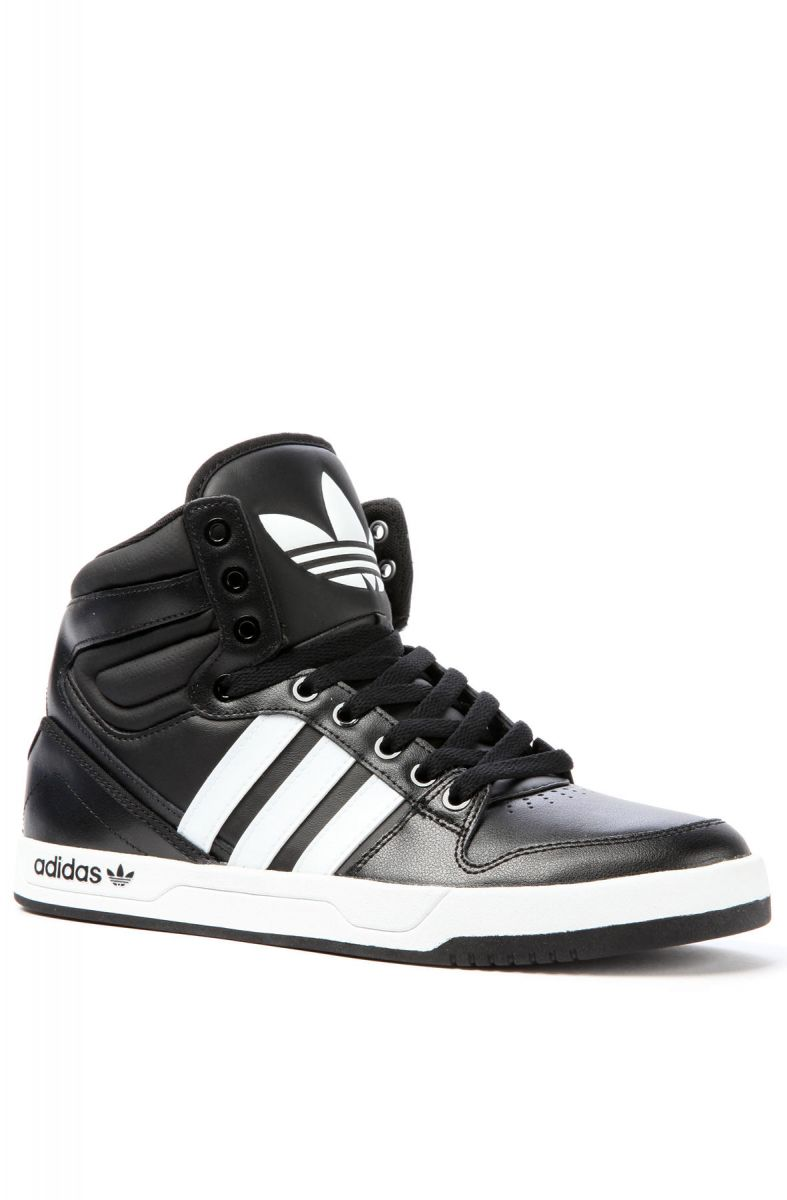 buy popular 68882 5a30a The Court Attitude Sneaker in Black  White ...