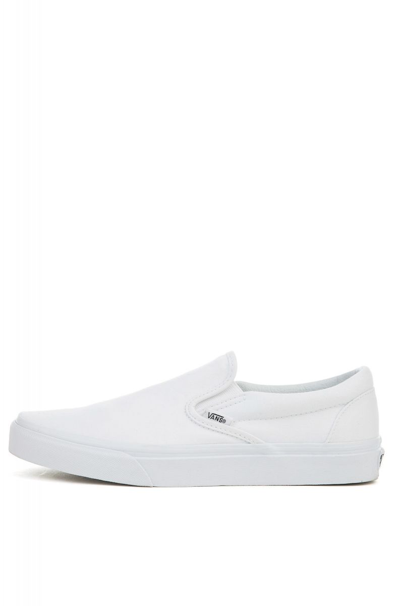 66520e3b6d VANS Sneaker Unisex Classic Slip-On True White