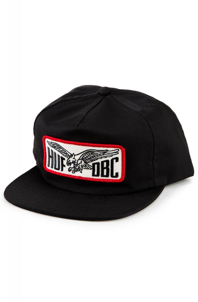 b06d73ea4c71c HUF Hat Eagle Snapback Black