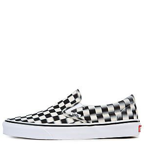 U Classic Slip on BlackWhite Checker