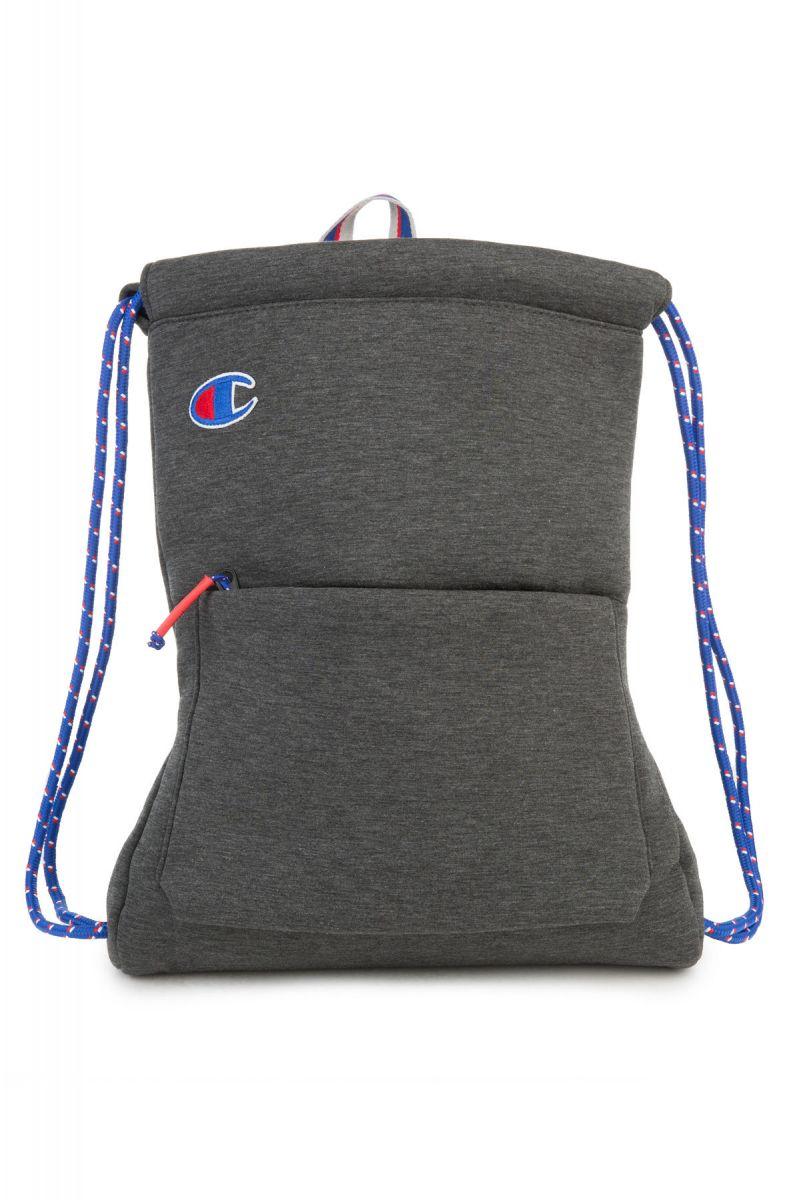 f5235f93b604 Champion Backpack Attribute Gym Sack Dark Grey