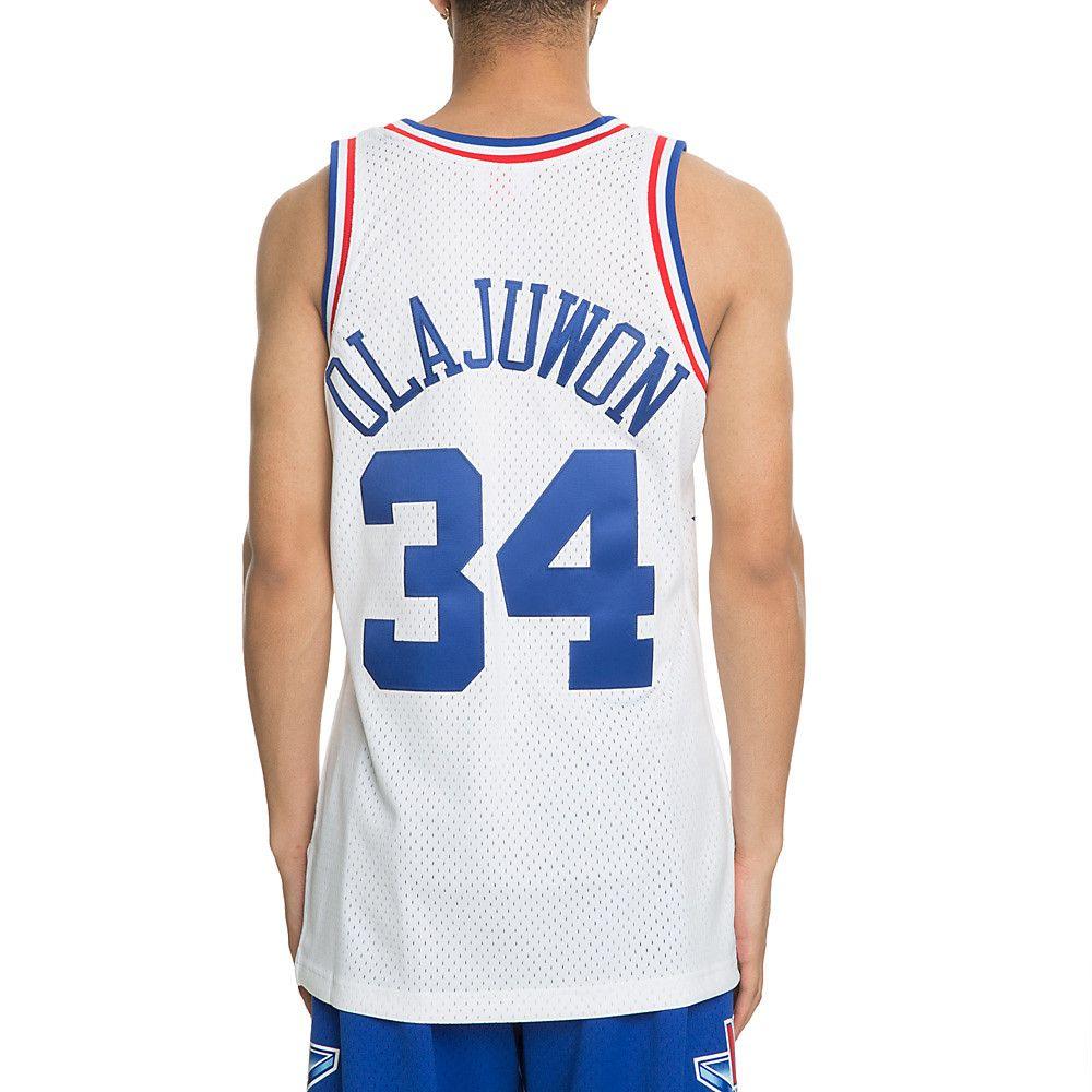 new style 942a5 7a64c Men's All-Star Hakeem Olajuwon Jersey