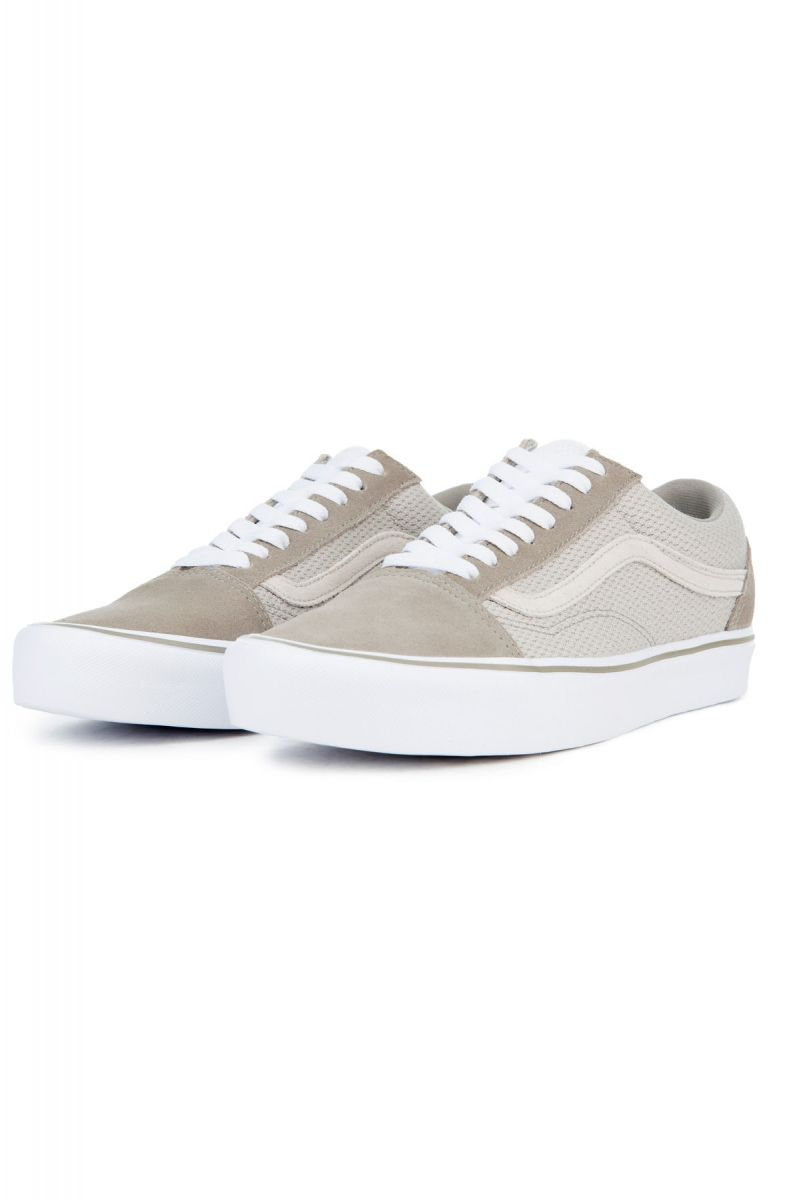 ... The Men s Old Skool Lite Mesh in Fallen Rock Silver Lining Suede ... 3ea8b0c6f