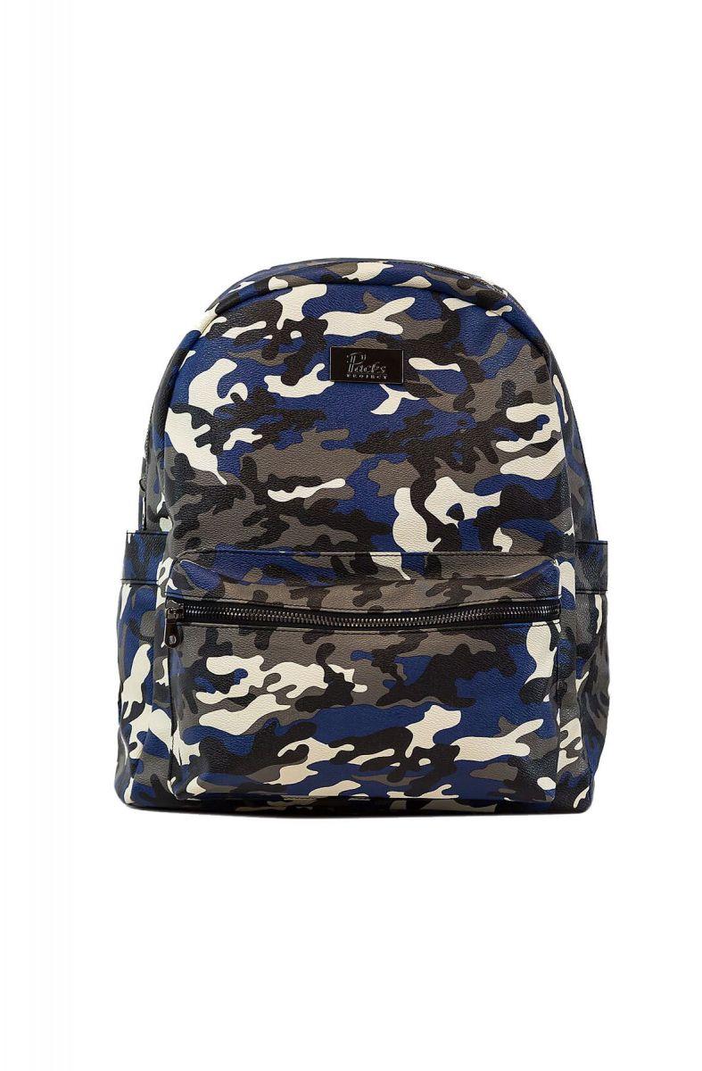 3b9b48489e4f Roots Blue Camo Backpack - Dennis Krousos