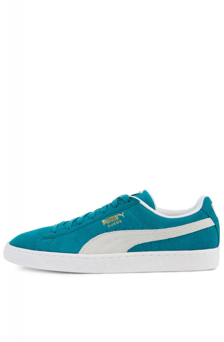 meilleur service 7f0d8 79c1d The Suede Classic in Ocean Depths and Puma White