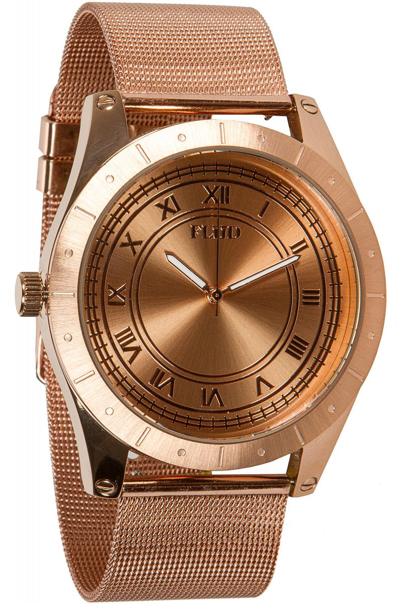 Flud watches watch big ben with interchangeable bands in rose gold for Watches rose gold