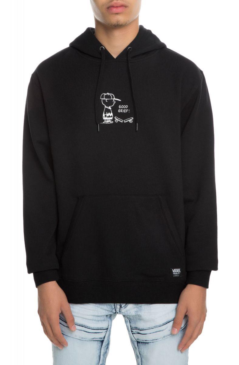 bc1762c98301f3 VANS Sweatshirt x Peanuts Good Grief Pullover Black
