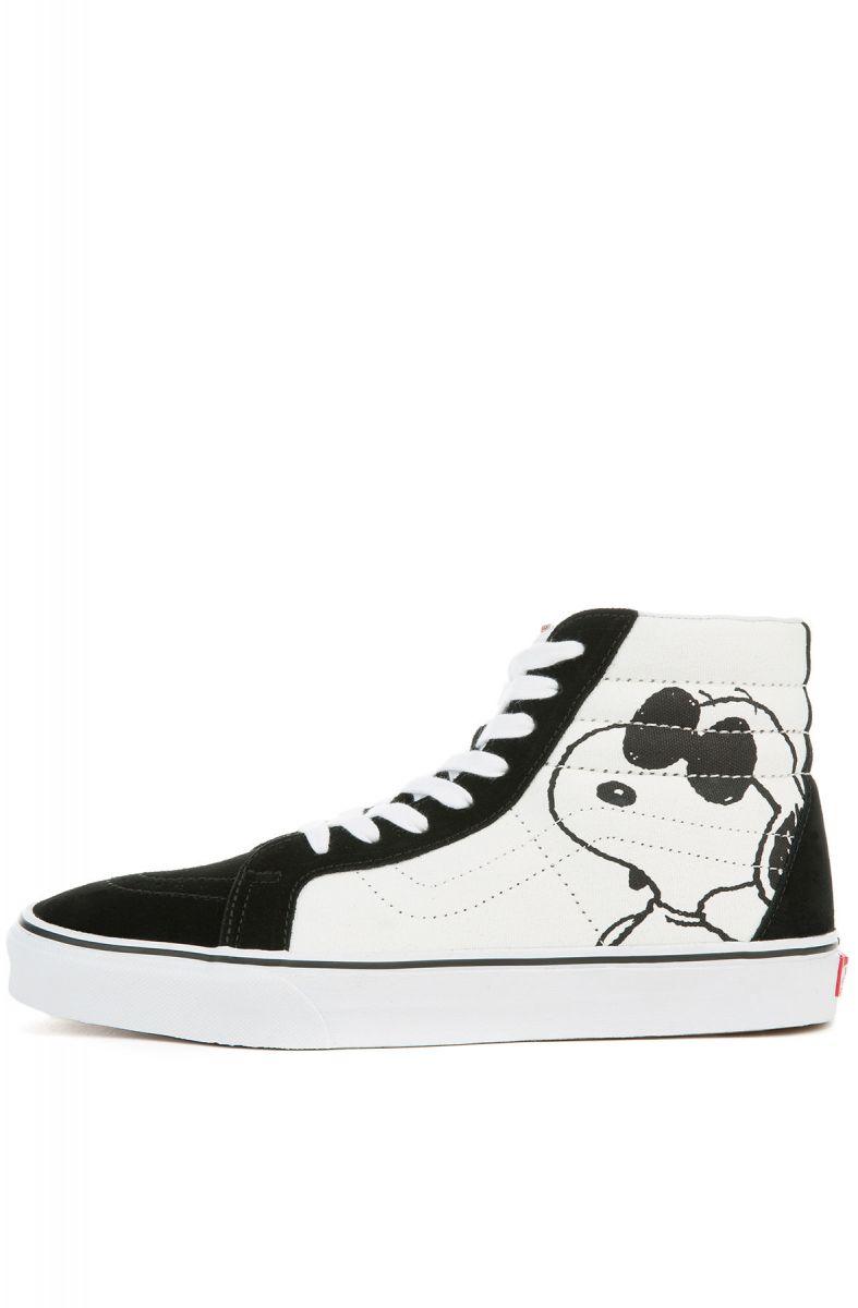 2fb7629bfb VANS Sneakers x Peanuts Sk8-Hi Reissue Joe Cool Black