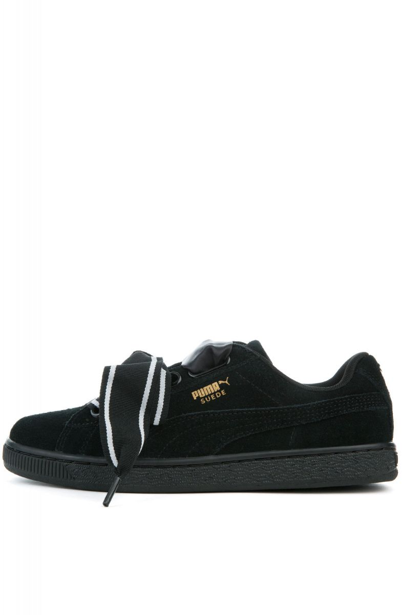 online store 6a4c6 4875d The Suede Heart Satin II in Black