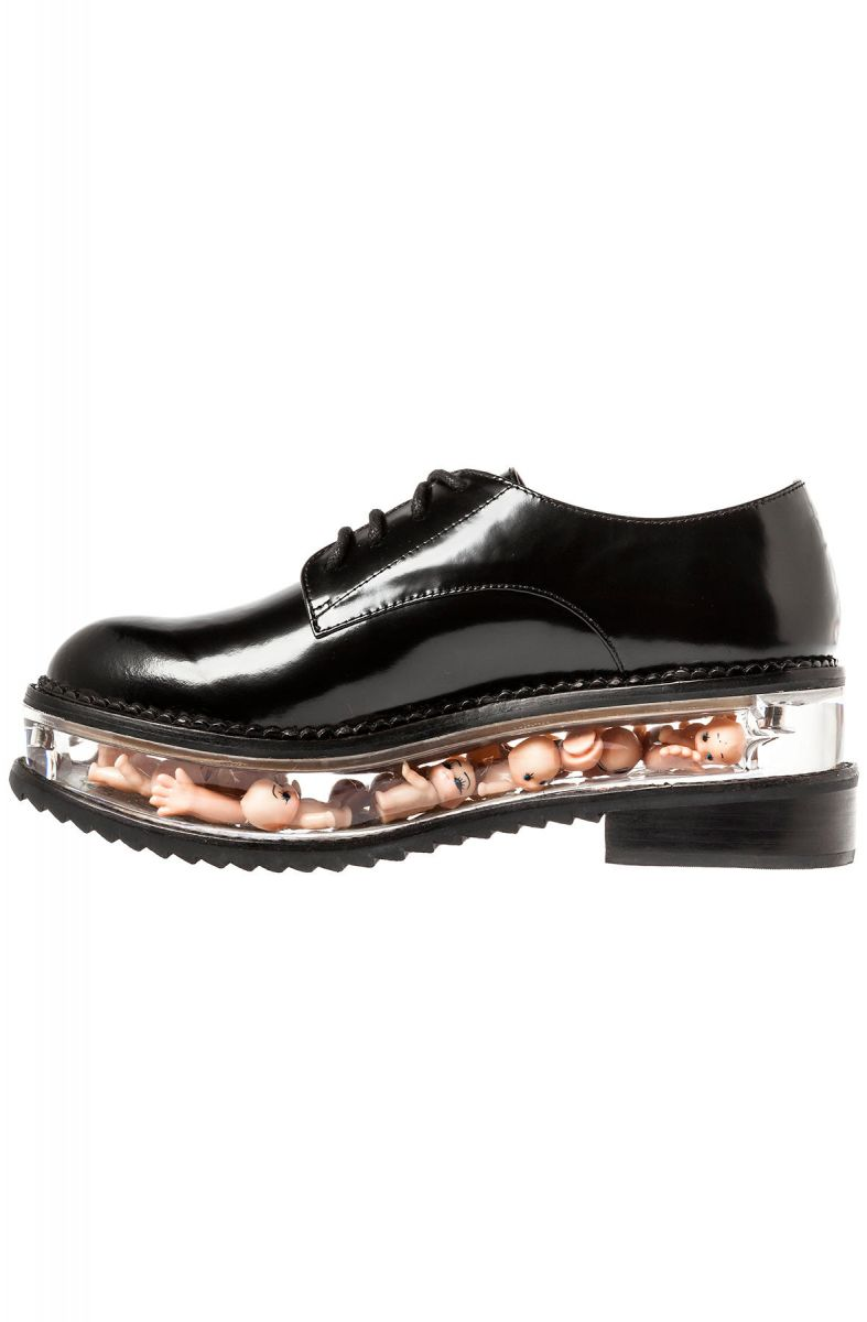 Jeffrey Campbell Shoe The Jagger In Black