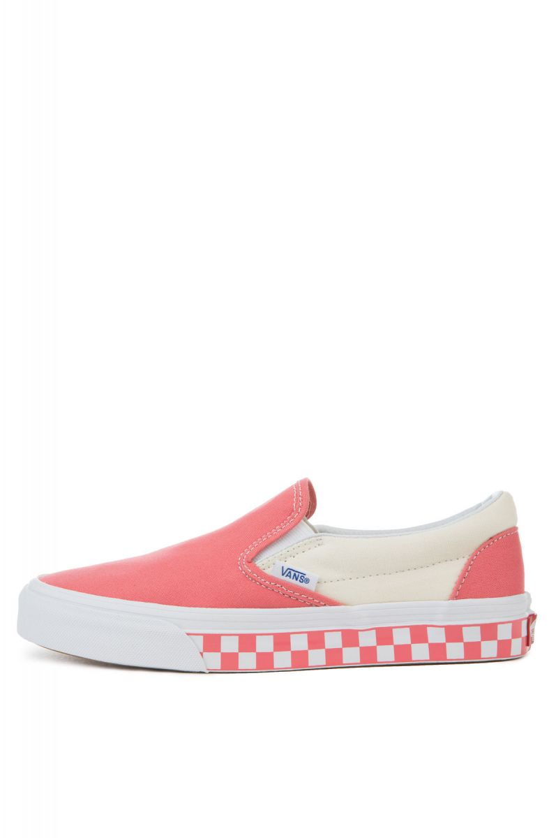 b63dcc2a3c The Women s Classic Slip-On Checker Sidewall in Spice Coral and ...