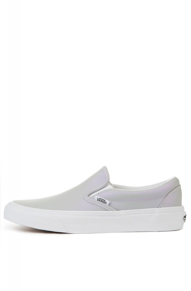 91d079f8ee The Women s Classic Slip-On Muted Metallic in Gray and Violet