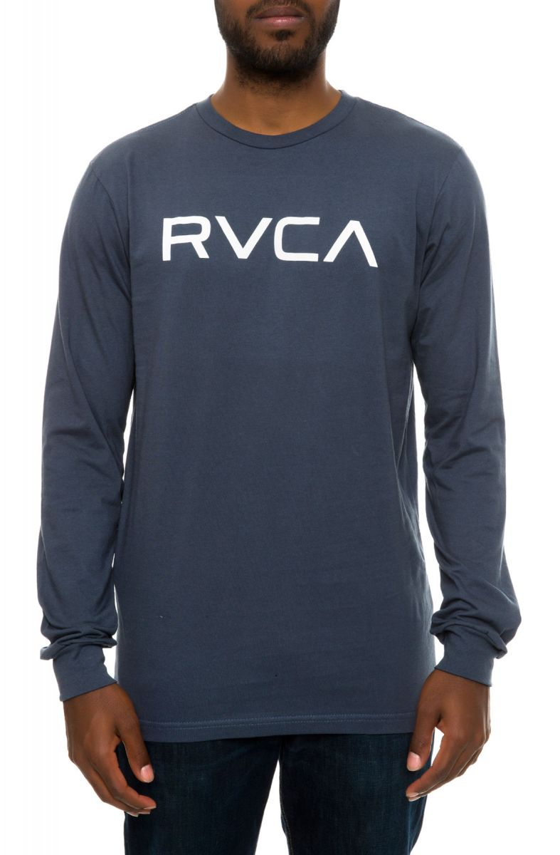 0a85ccd70 RVCA Tee Big RVCA LS Midnight Blue