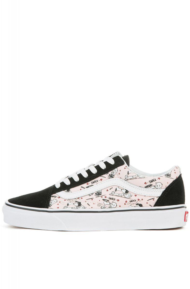 d64d4f2da268 VANS Sneaker x Peanuts Old Skool Smack Pearl Pink