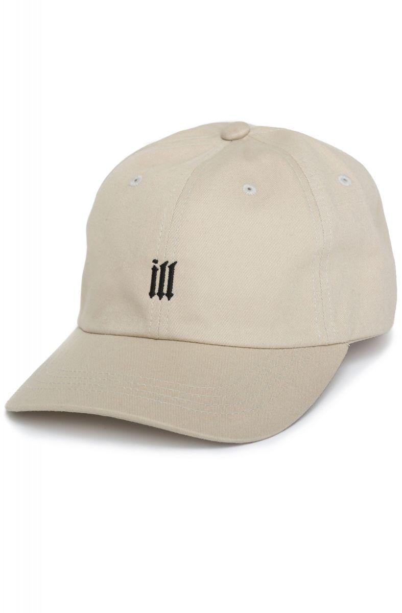 18c0929e909de 12AM   RUN Hat ILL Dad Cap Black and Cream White
