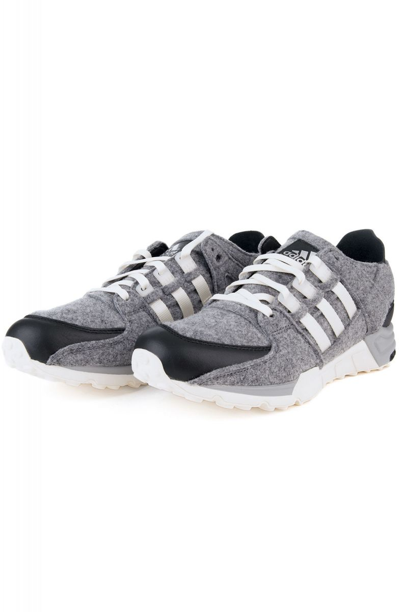 best sneakers 08fe0 e7fef ... The adidas EQT Support Winter Wool Sneakers in Core Black and Off White  ...