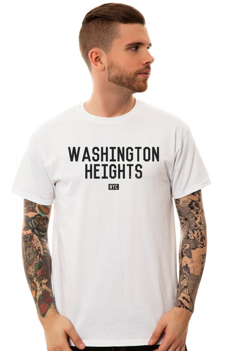 KLP Tee The Washington Heights in White