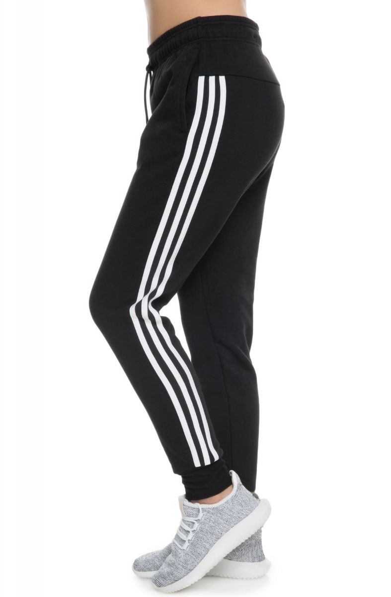 Adidas Joggers Womens Co Fl 3S Black White-5523