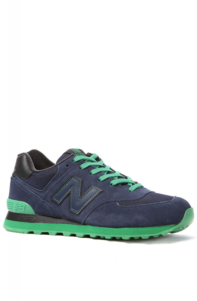 Navy Balance Pack In New Sole Green Sneaker Blueamp; 574 Nm8nw0