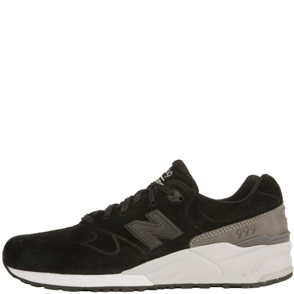 new balance black suede