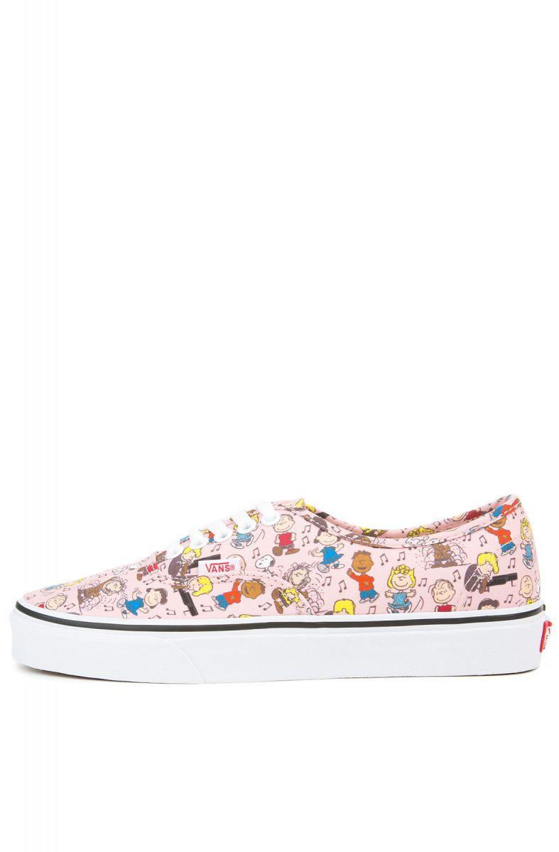 140254efe8b VANS Sneaker Women s x Peanuts Authentic Dance Party Pink