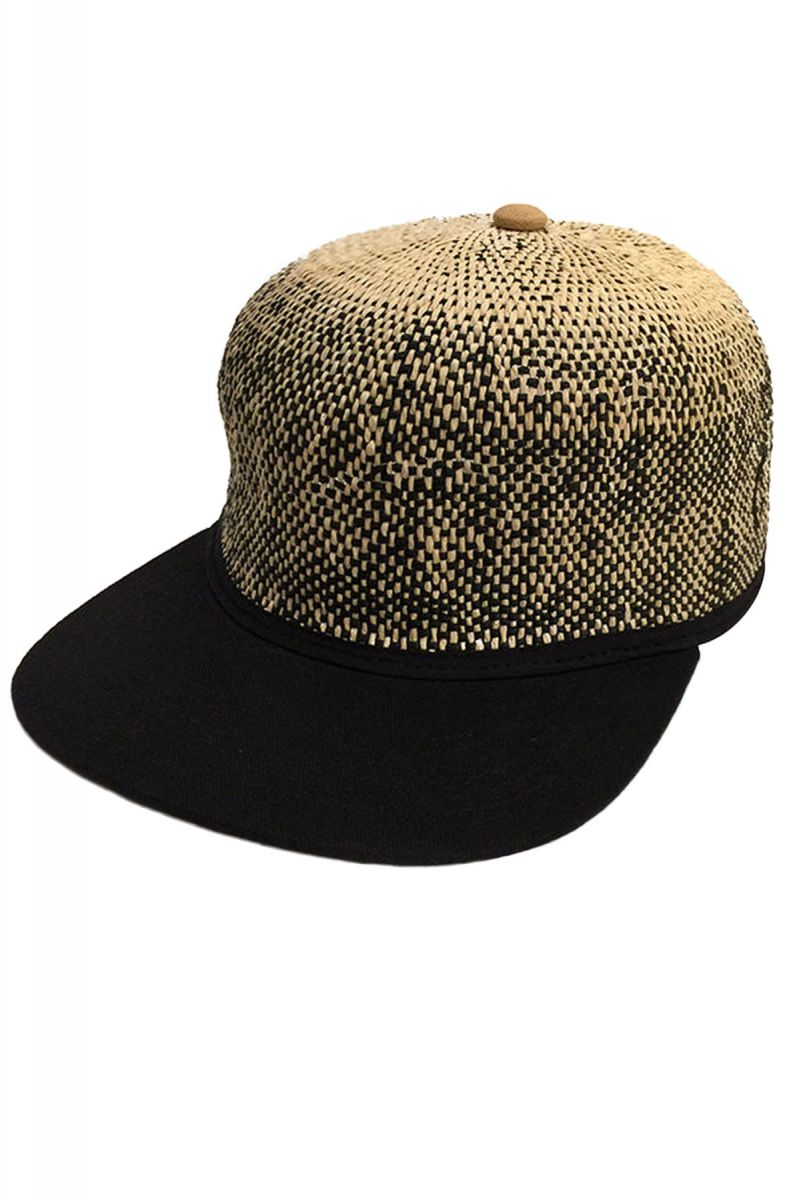 acc720d269269 Original Chuck By Mark McNairy Hat Straw Ball Snapback Natural Brown