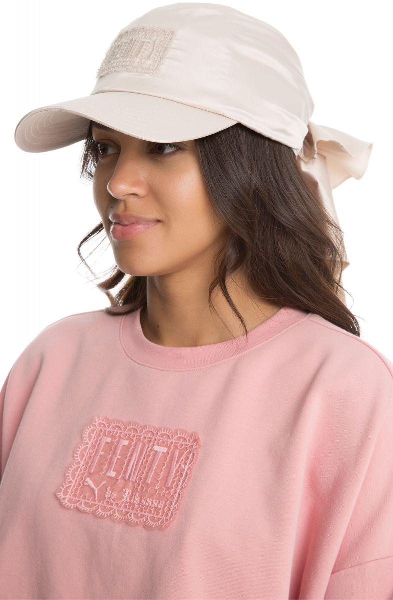 1042fe2ec16 The Puma x Fenty by Rihanna Bandana Cap in Pink Tint