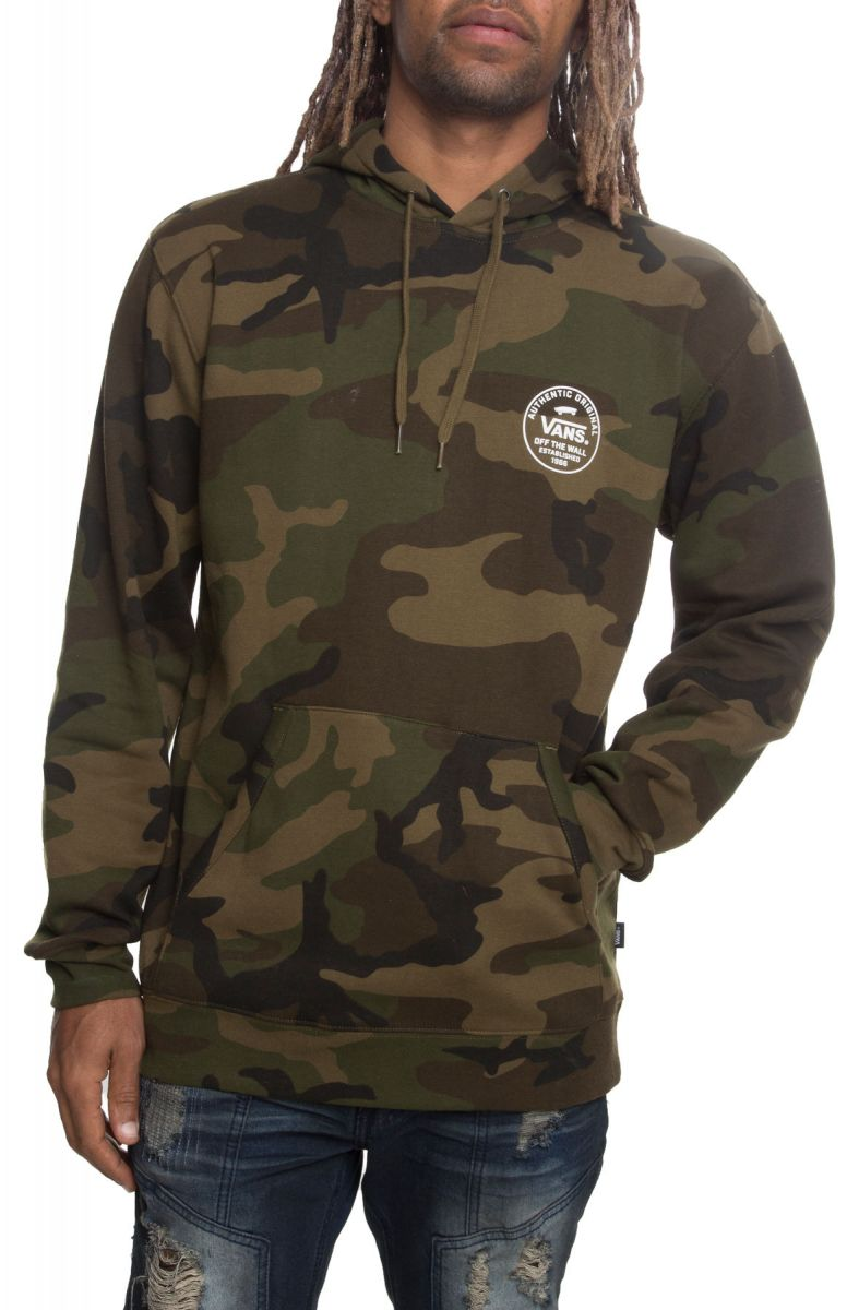 8d455a4d9d The Seasonal Circle Logo Pullover Hoodie in Camo