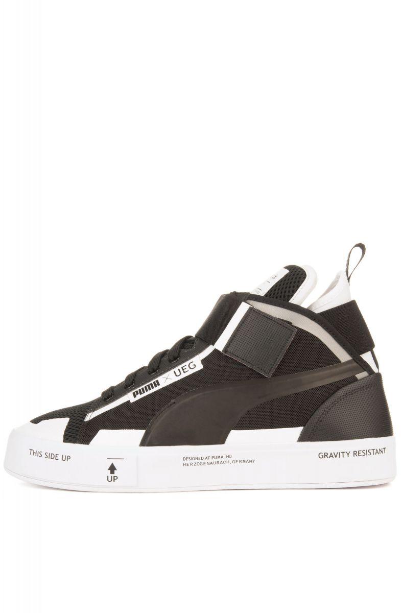 95ade9ec3c2208 Puma Sneaker Puma x UEG Court Play Puma Black and White