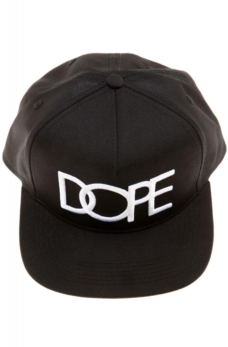 53e3e357a The Classic Logo Snapback Hat in Black