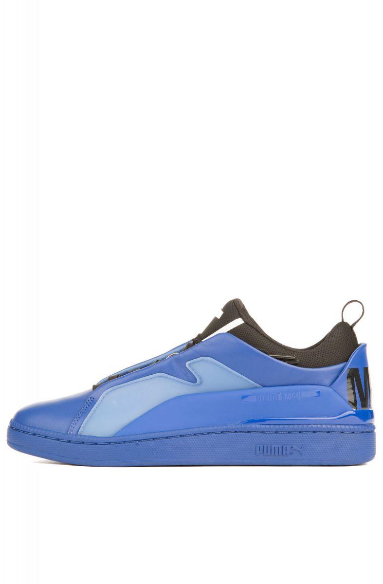 084d863e51ef The Puma x MCQ Brace Lo Sneaker in Surf The Web and Puma Black ...
