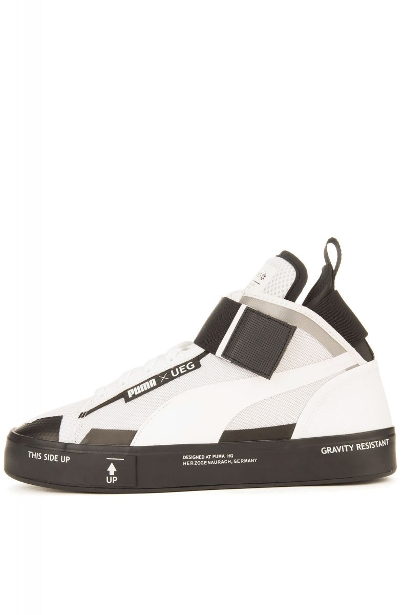 the best attitude 61c67 d74d4 Puma Sneaker Puma x UEG Court Play Puma White and Black