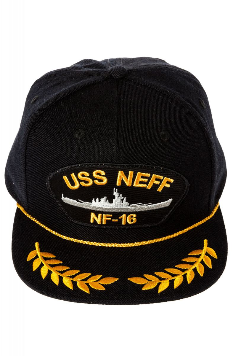 ... The USS Neff Snapback Hat in Black ... 81a621243dc