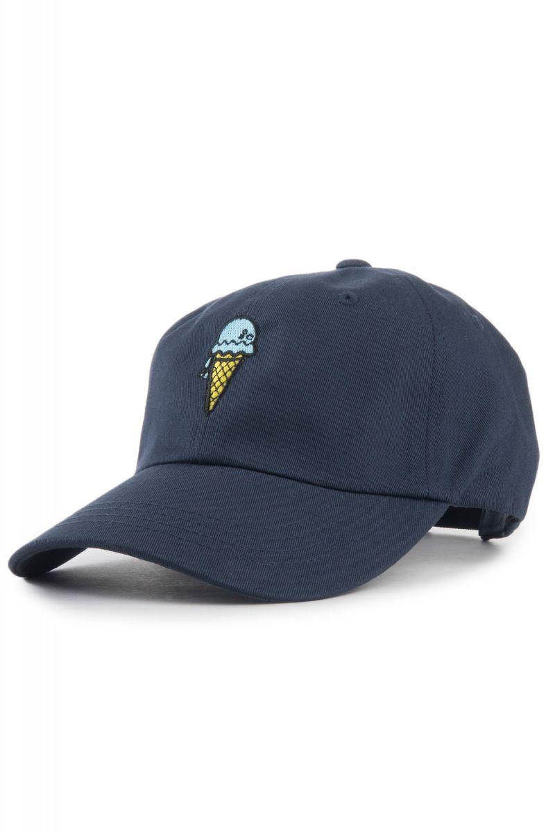 a2b582c4133 KLP Hat Ice Cream Cone Dad Navy Blue