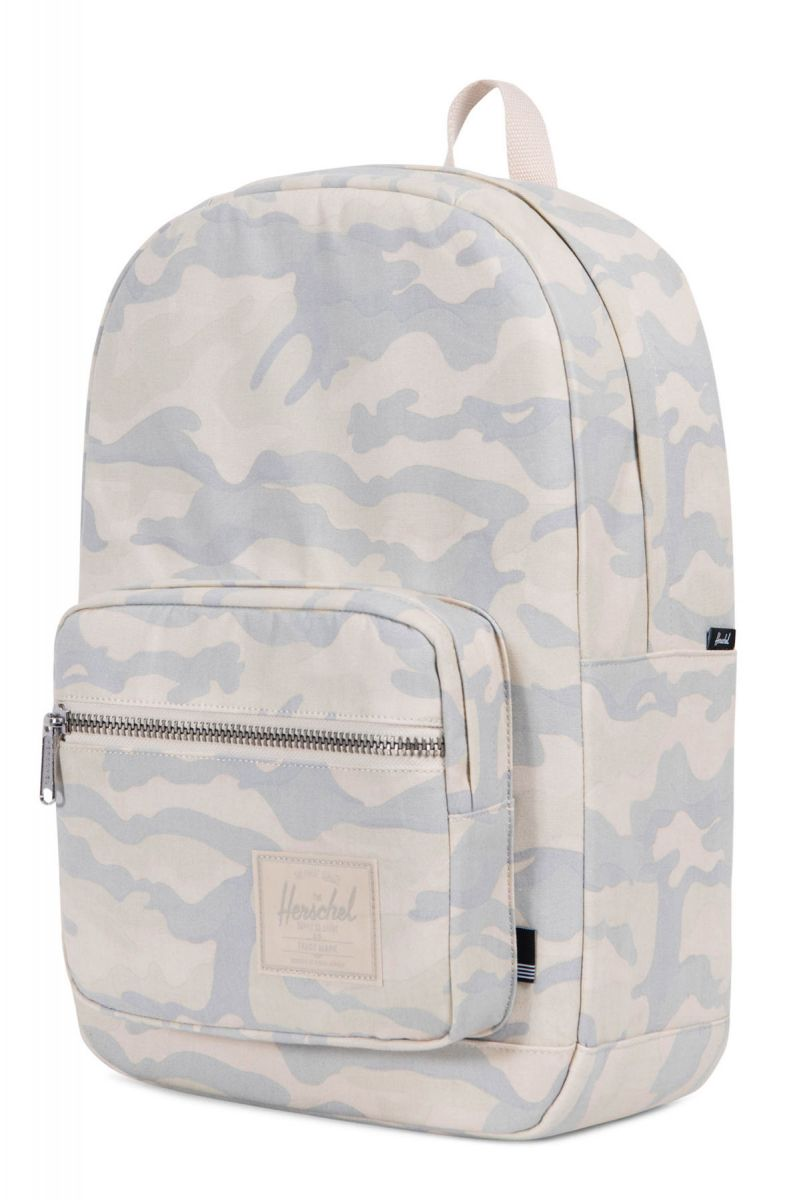 a9bdb713d03 Herschel Backpack Pop Quiz Washed Canvas Camo White