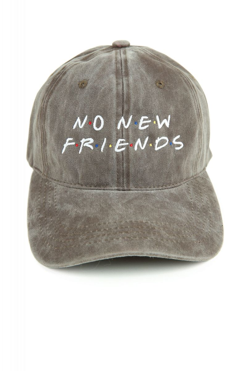 The Friends Dad Hat In Brown Mineral