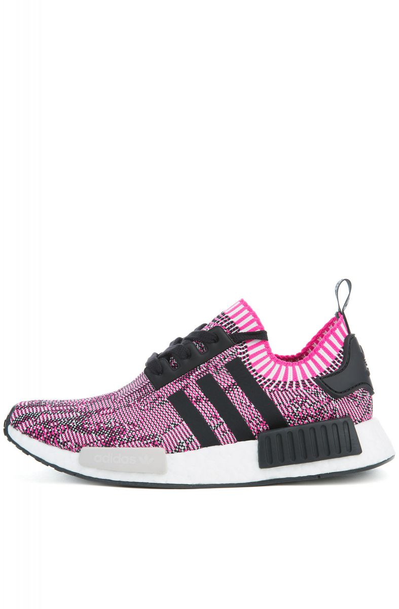new styles be23e 20d75 The NMD R1 Primeknit in Shock Pink & Black & White