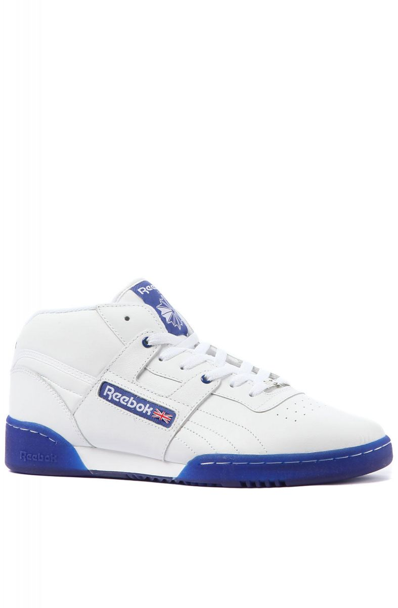610b780f217dad Reebok Sneaker Workout Mid Ice in White