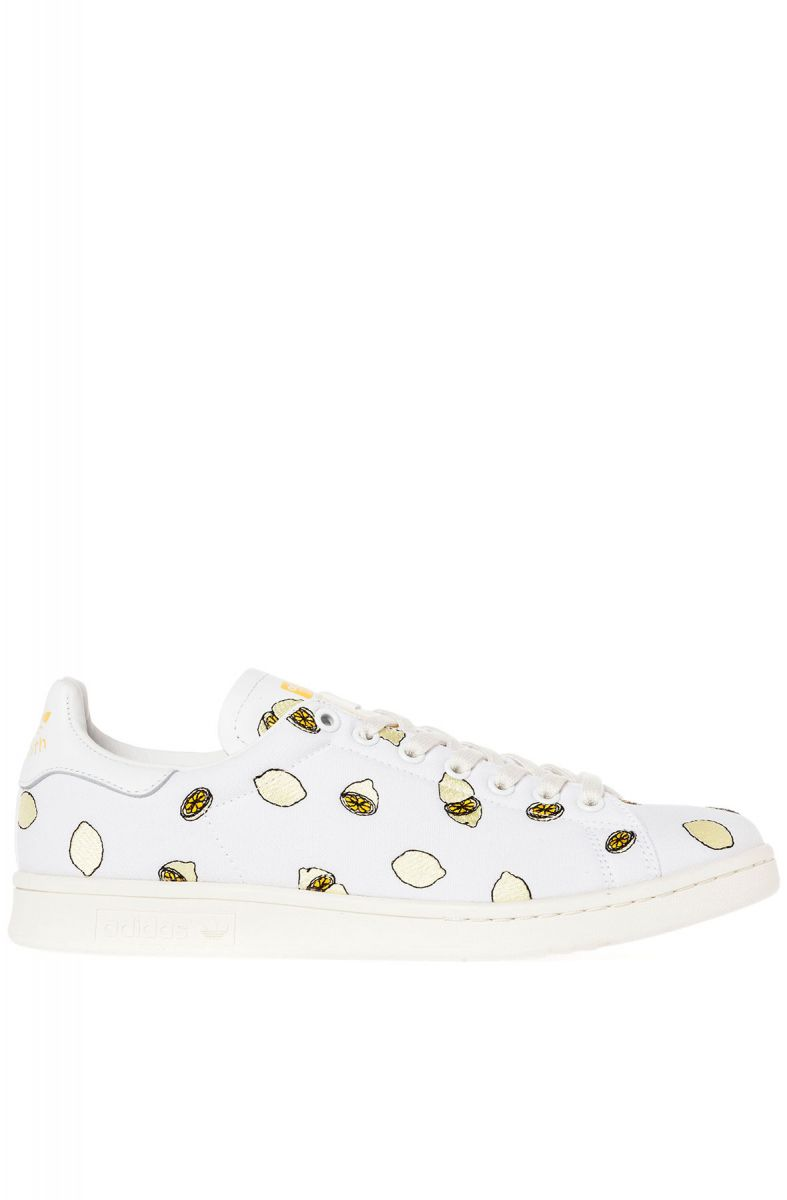 check out 2aa77 4a345 adidas Sneaker Stan Smith Lemon in White