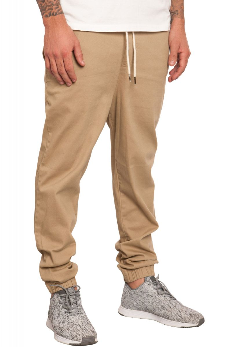 fashionable and attractive package elegant and sturdy package many styles The Stretch Twill Jogger Pants in Khaki