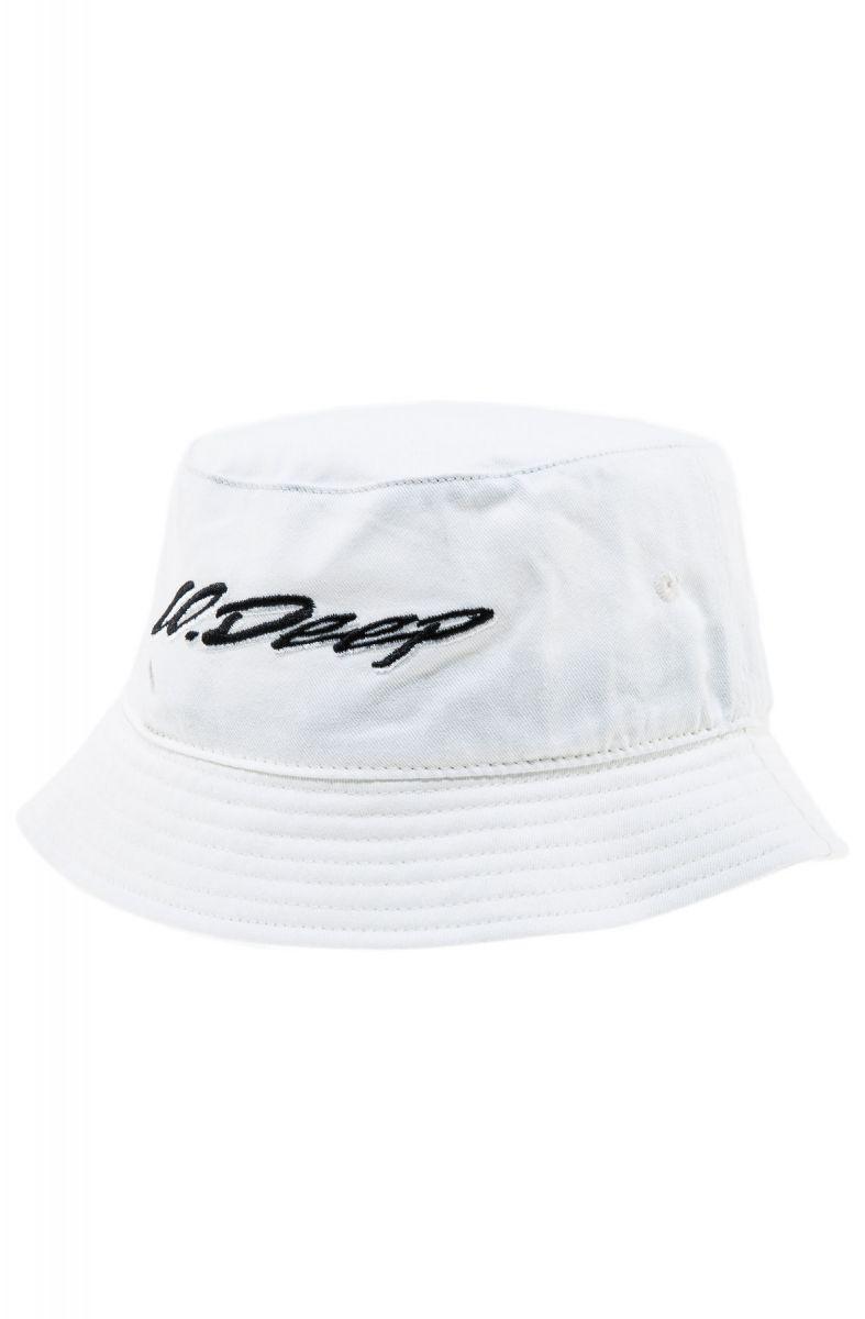 9f56fb4edd6 10 Deep Hat Handscript Bucket White