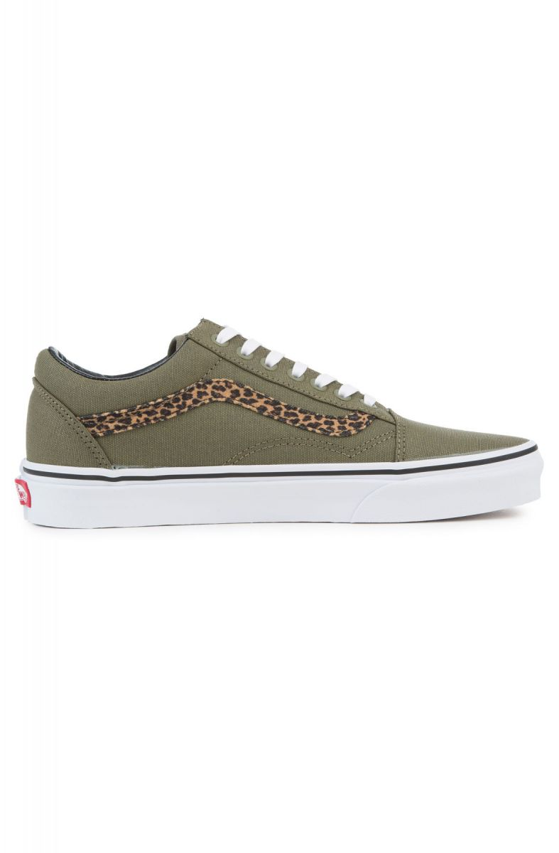 vans old skool mini leopard